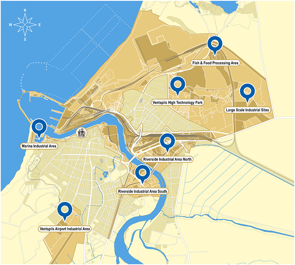 Industrial Sites and Premises - Freeport of Ventspils authority