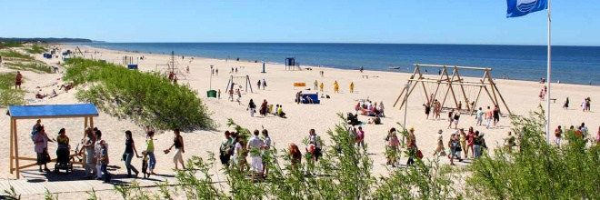 Well-Kept Beach – the Best in Latvia