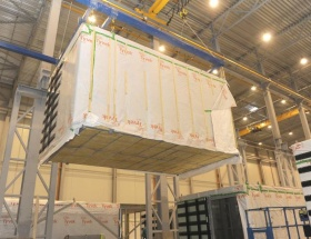 modular buildings, production in Latvia, Latvia port, ready-made production space