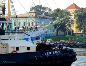 PKL Latvia, Tugs, the Freeport of Ventspils, international tugboat company