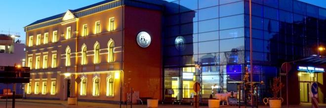 prāmju terminālis, prāmju satiksme, Ventspils osta, biroju ēka