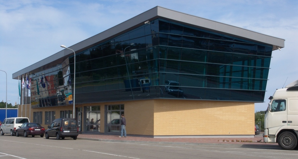 Free pot of ventspils, terminal, building, for rent, offices,